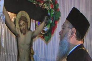 """Παρέμβαση εισαγγελέα στην Κόρινθο για τον Εσταυρωμένο που """"δακρύζει""""στον Ασπρόκαμπο!"""