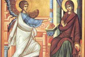 Εορτή του Ευαγγελισμού της Θεοτόκου