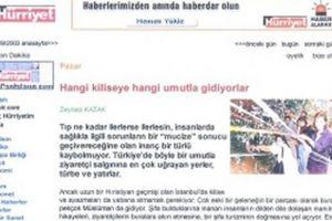 HÜRRIYET: Οι Τούρκοι στρέφονται στην Ορθοδοξία