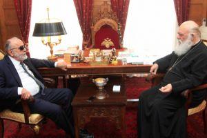 Συνάντηση Υπουργού Υγείας με Αρχιεπίσκοπο Ιερώνυμο
