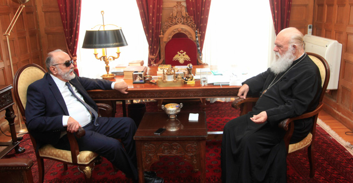 You are currently viewing Συνάντηση Υπουργού Υγείας με Αρχιεπίσκοπο Ιερώνυμο