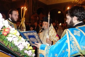 Οι Δ' Χαιρετισμοί της Θεοτόκου στη Λάρισα