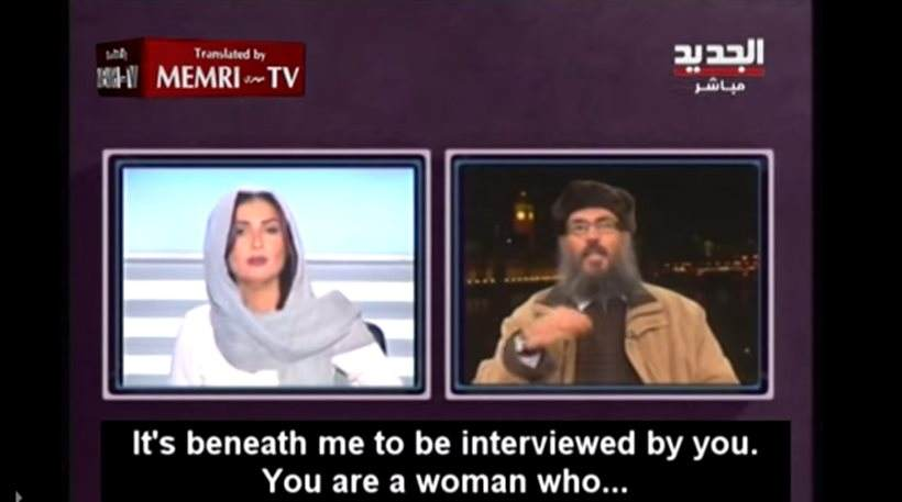 You are currently viewing Ξυπνούν και οι μουσουλμάνες! – Τι έκανε Λιβανέζα παρουσιάστρια όταν ισλαμιστής της είπε: «Είσαι γυναίκα, σκάσε»