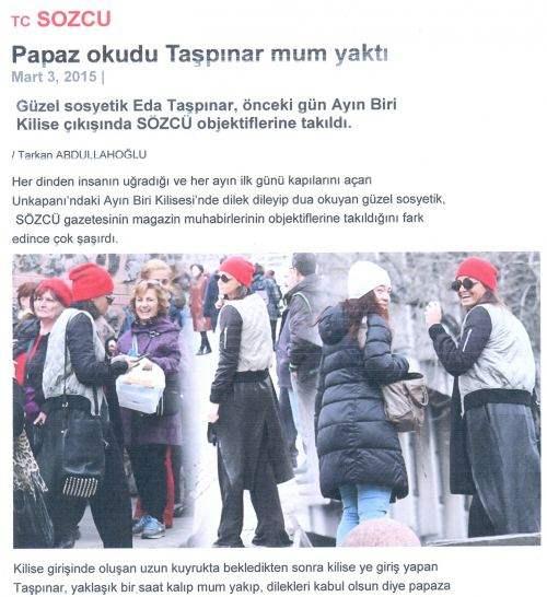 You are currently viewing Διάσημη Τουρκάλα προσεύχεται σε Ελληνορθόδοξο ναό της Κωνσταντινούπολης