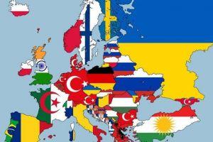 Ένας χάρτης για μαθήματα ανθρωπογεωγραφίας. Πού έχουν γεννηθεί οι άνθρωποι που ζουν στις χώρες της Ευρώπης; Ποια είναι η δεύτερη μεγαλύτερη πληθυσμιακή κοινότητα στην Ελλάδα;