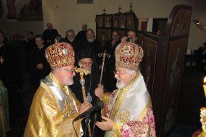 Χειροτονία του Επισκόπου Χαριουπόλεως Ιωάννου στο Πατριαρχικό Κέντρο του Σαμπεζύ