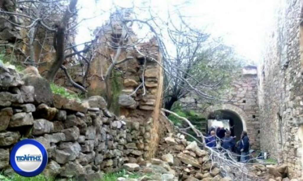 You are currently viewing Καταρρέει αβοήθητη η Μονή Μουνδών Χίου – Εκτεταμένες καταστροφές από τις βροχοπτώσεις εντός της ζώνης του Μοναστηριού
