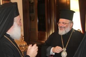 Ο Πατριάρχης Θεόδωρος τίμησε τον Διδυμοτείχου Δαμασκηνό