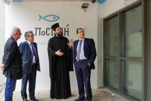 """Η Attica Bank στηρίζει το Κοινωνικό Παντοπωλείο  """"Αποστολή Αγάπης"""" της Ι.Μ.Νέας Ιωνίας"""