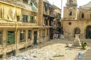 Ισλαμιστές και «μετριοπαθείς» βομβαρδίζουν τις εκκλησίες στο Χαλέπι