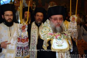 Εσπερινός των εγκαινίων στον I.N. Αγίας Ματρώνης της Χιοπολίτιδος στη Νέα Ερυρθαία
