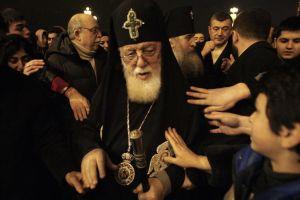 """Πατριάρχης Γεωργίας Ηλίας Β: """"Γυρίστε πίσω στη πατρίδα σας"""""""