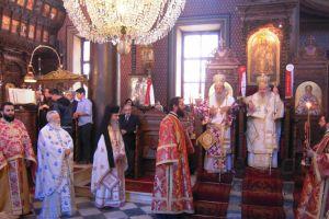 Λαμπρός ο εορτασμός για τον πολιούχο της Μυτιλήνης