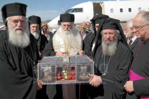 Η Αθήνα υποδέχθηκε την Αγία Βαρβάρα (ΦΩΤΟ-ΒΙΝΤΕΟ)