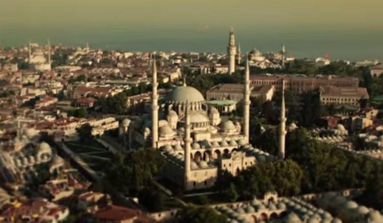 Απίστευτη τουρκική πρόκληση: Έκαναν τζαμί σε βίντεο την Αγία Σοφιά (VIDEO)