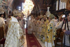Πανηγυρική Πολυαρχιερατική Θεία Λειτουργία επί τη μνήμη του Αποστόλου Παύλου στην Κόρινθο