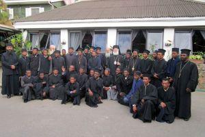 Ιερατική σύναξη της Ι.Μ.Μαδαγασκάρης