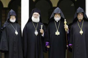 Ο Πατριάρχης Αλεξανδρείας στην Βηρυτό για την Εκκλησία των Αρμενίων