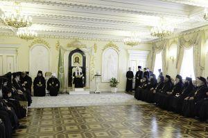 Συνάντηση Πατριάρχη Μόσχας με Αντιπροσωπείες των Ορθοδόξων Εκκλησιών