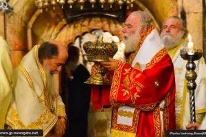 Πατριαρχικό Συλλείτουργο στον Πανάγιο και Ζωοδόχο Τάφο του Κυρίου (ΦΩΤΟ)