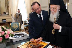 Αναχώρησε για το Παρίσι ο Οικουμενικός Πατριάρχης