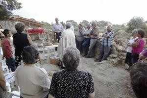 Μετά από 62 χρόνια τελέσθηκε εσπερινός στα ερείπια της Αγίας Μαρίνας στα Σπαρτιά Κεφαλλονιάς