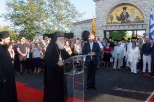 Η γενέτειρά του τιμά τον Εθναπόστολο Άγιο Κοσμά τον Αιτωλό