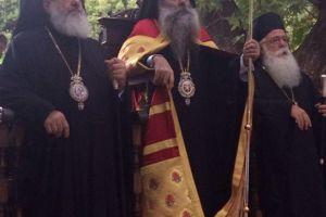 Μέγας Πανηγυρικός Εσπερινός στην Ιερά Μονή Παναγίας Ξενιά