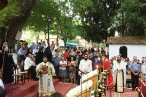 Την προστάτιδα της τοπικής Εκκλησίας Παναγία Ξενιά εόρτασε η μητρόπολη Δημητριάδος