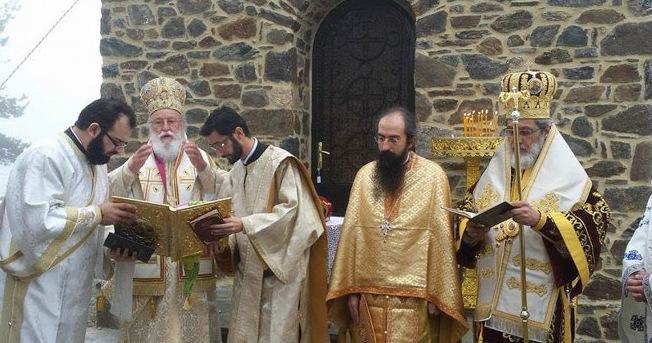 Εγκαίνια Ναού παρουσία του Αρχιεπισκόπου Ιερωνύμου