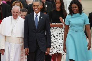 Ο Πάπας Φραγκίσκος στον Λευκό Οίκο (VIDEO)