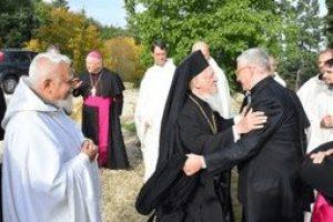 Θερμή υποδοχή στον Οικουμενικό Πατριάρχη από την Αδελφότητα του Μπόζε