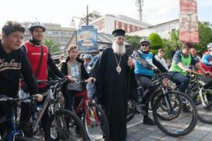 Με μεγάλη επιτυχία ο 1ος Ποδηλατικός Γύρος Λαμίας που διοργάνωσε η Ι. Μητρόπολη Φθιώτιδος