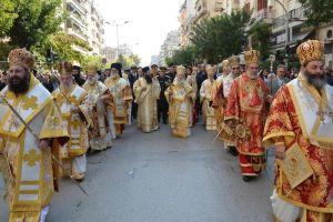 Στους δρόμους της Θεσσαλονίκης ο πολιούχος Άγιος Δημήτριος