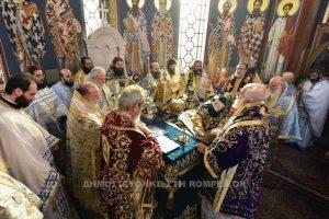 Πολυαρχιερατικό Συλλείτουργο για τον Άγιο Νέστορα και τα Ελευθέρια στον Λαγκσδά