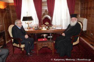 """Καταπέλτης ο Αρχιεπίσκοπος για το  Τζαμί: """"Κύριε Υπουργέ προσέξτε, σας ετοιμάζουν μία έκπληξη"""