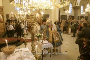 Στην  Μητρόπολη Βελγίου εόρτασαν την εθνική μας επέτειο
