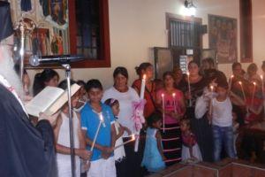 Βόλος: Ομαδική βάπτιση Ρομά από τον μητροπολίτη Δημητριάδος