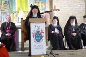 Οικ.Πατριάρχης Βαρθολομαίος: «Οι διάλογοι δεν υφίστανται για να εξυπηρετούν θέσεις και επιχειρήματα,αλλά αποδεικνύουν την αγάπη και την ειλικρίνεια»