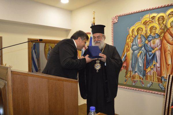 You are currently viewing Τον Αγιογράφο Γεώργιο Γιαρισκάνη τίμησε η μητρόπολη Ελευθερουπόλεως