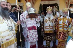 Η Εορτή του Αγίου Νεκταρίου στην Αίγινα