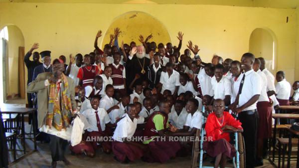 You are currently viewing Ο Πατριάρχης Αλεξανδρείας στο πλευρό των φτωχών χριστιανών της Βορείου Ουγκάντας