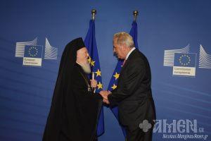 Συνάντηση Βαρθολομαίου – Αβραμόπουλου στις Βρυξέλλες