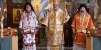 Τρισαρχιερατική Θεία Λειτουργία στη Γάνδη