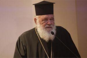 Ο Αρχιεπίσκοπος μιλά με φοιτητές Ορθόδοξης θεολογίας από 13 χώρες