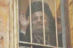 Ο δοκιμαζόμενος Πατριάρχης Ειρηναίος στα  Ιεροσόλυμα, βγήκε από το κελί του,μετά από επτά χρόνια.