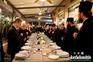 Το χθεσινοβραδυνό δείπνο στην Κεφαλληνία με κάθε λεπτομέρεια!