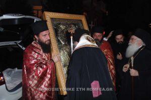 Υποδοχή της «Παναγίας της Ξενιάς» στις Σέρρες
