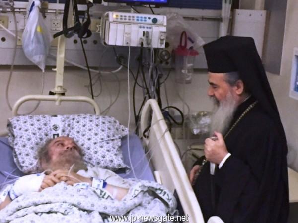 You are currently viewing Ο Θεόφιλος επισκέφθηκε τον Ειρηναίο στο νοσοκομείο… Συναντήθηκαν ύστερα από δέκα χρόνια.