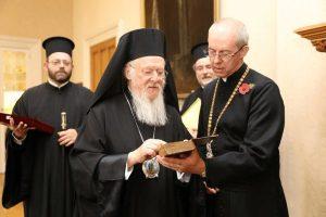 Κοινή επίσκεψη Οικουμενικού Πατριάρχη και Αρχιεπισκόπου Καντουαρίας στην Νίκαια και την Καππαδοκία το 2016